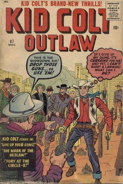 Kid Colt Outlaw Vol 1 87