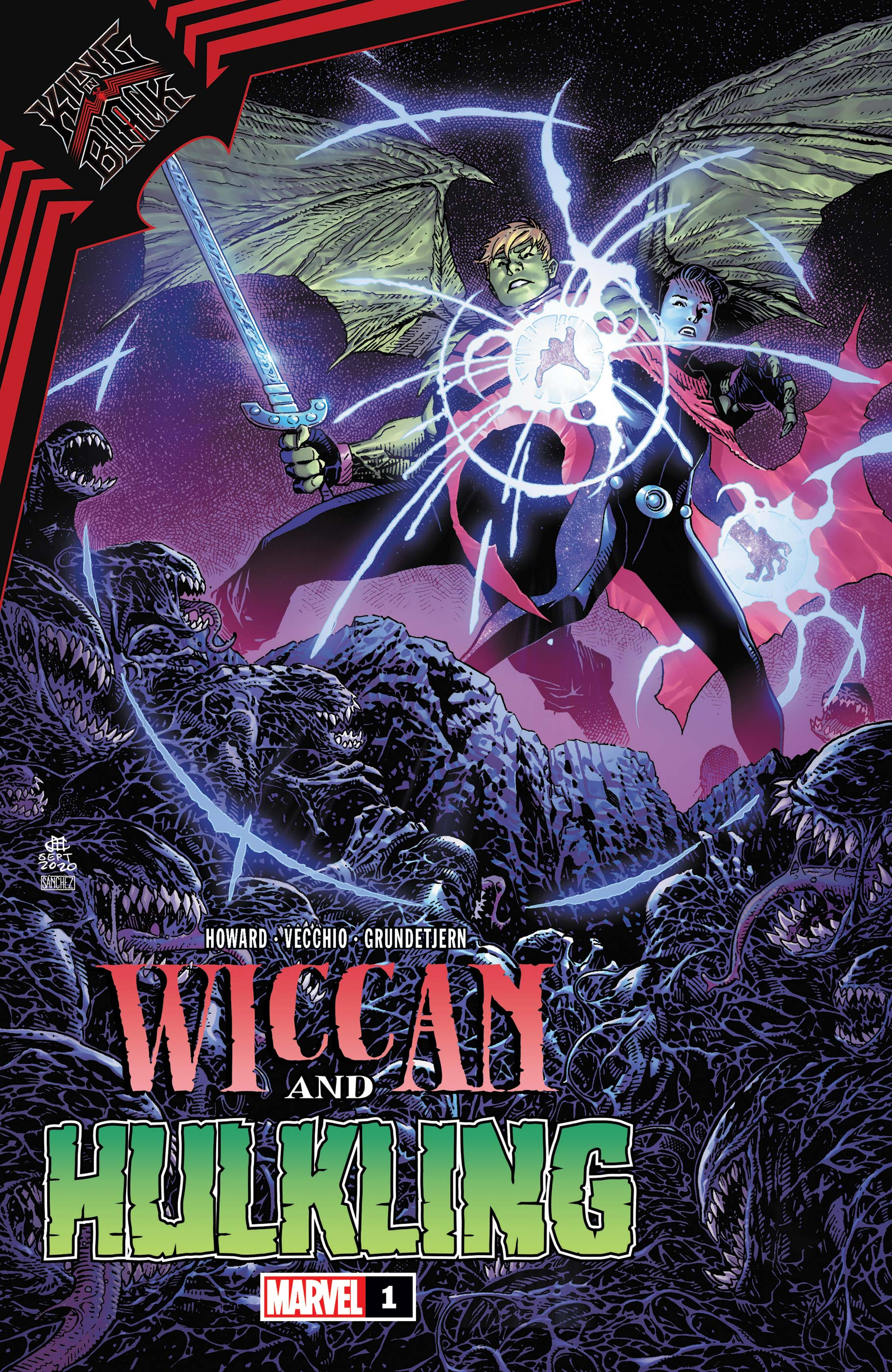 King in Black: Wiccan and Hulkling Vol 1 1