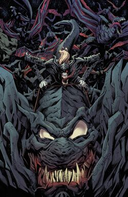 Knull (Earth-616) and Symbiote Dragons (Earth-616) from Absolute Carnage Vol 1 5 001.jpg