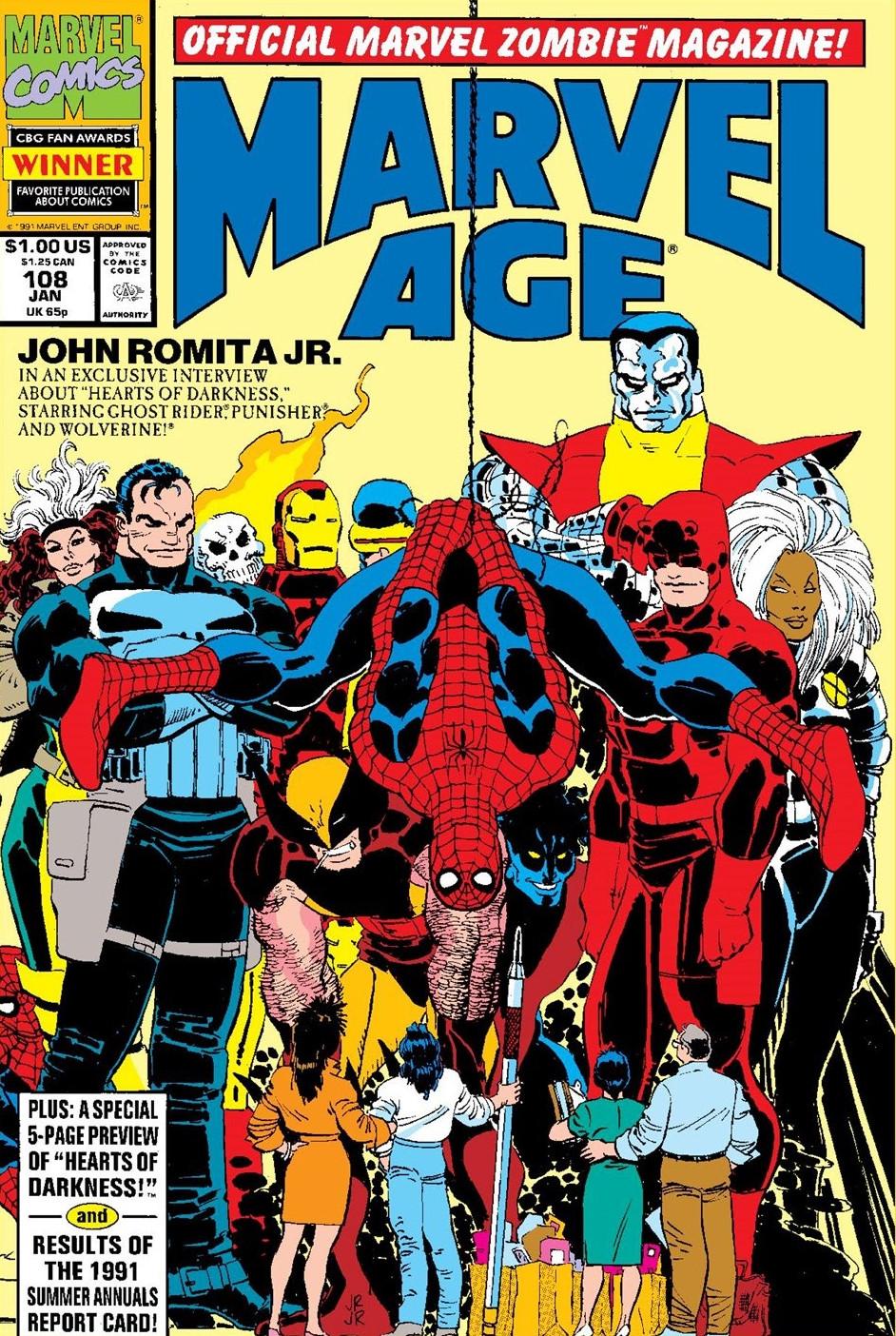 Marvel Age Vol 1 108
