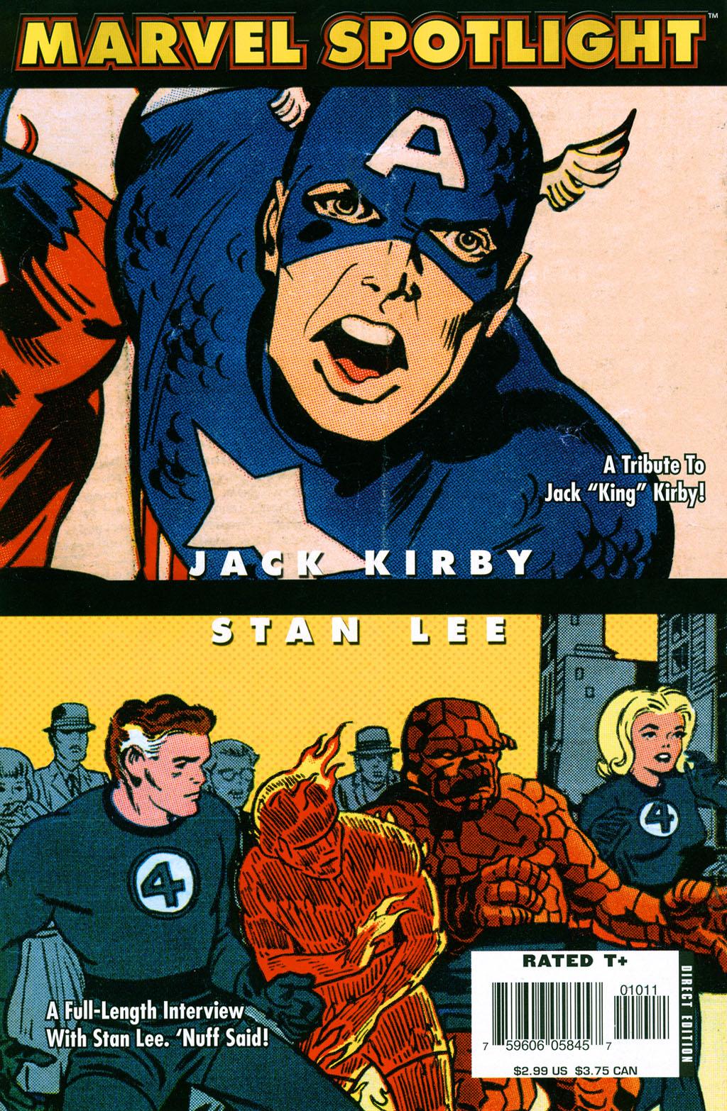 Marvel Spotlight: Stan Lee/Jack Kirby Vol 1 1