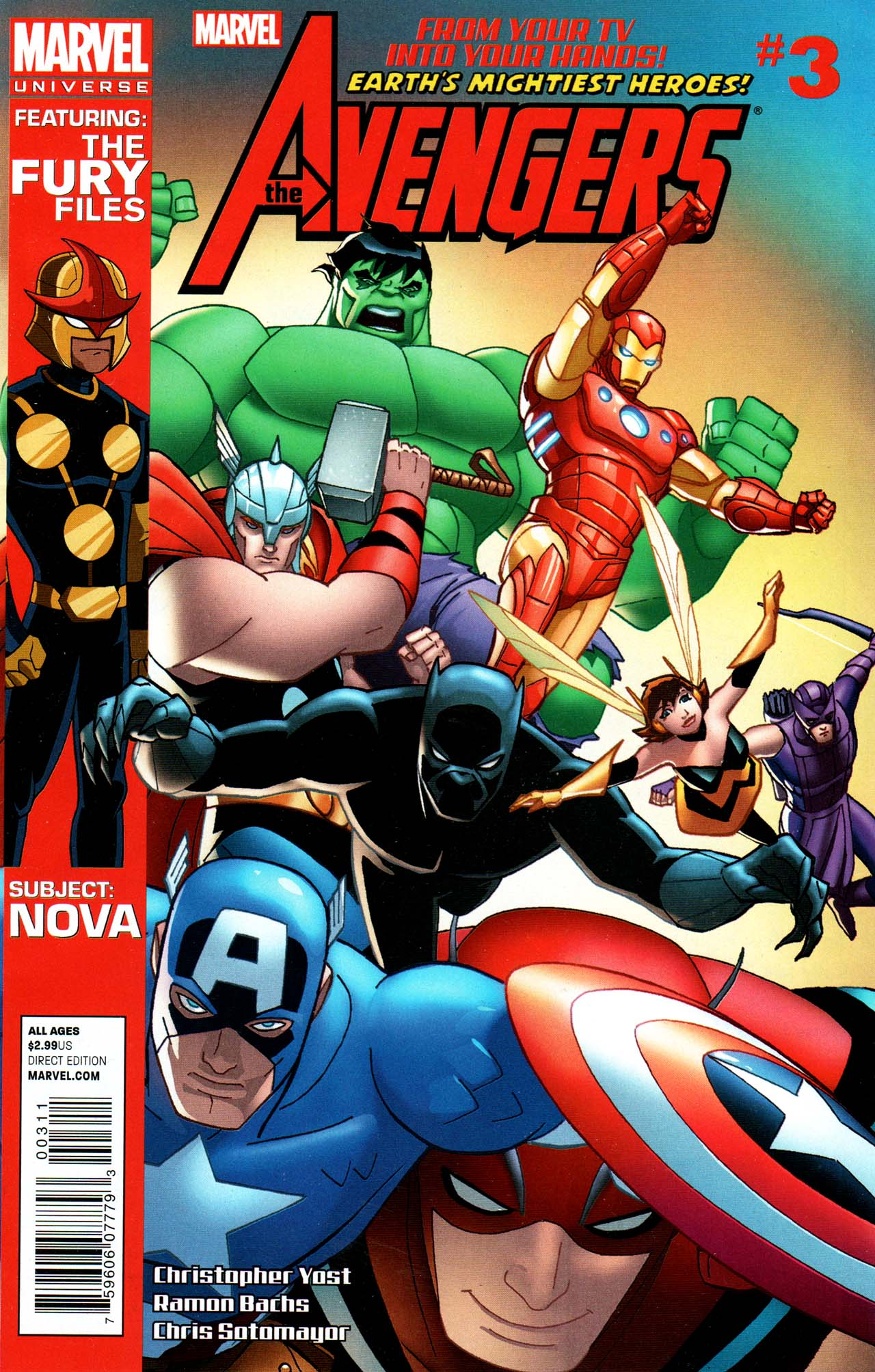 Marvel Universe: Avengers - Earth's Mightiest Heroes Vol 1 3