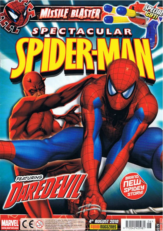 Spectacular Spider-Man (UK) Vol 1 206