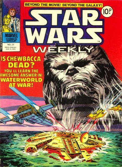 Star Wars Weekly (UK) Vol 1 27