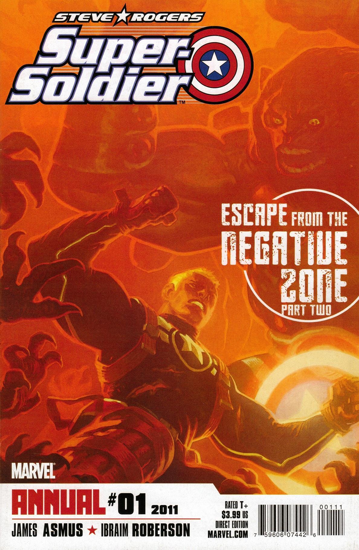 Steve Rogers: Super Soldier Annual Vol 1 1