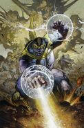 Thanos Rising Vol 1 5 Textless
