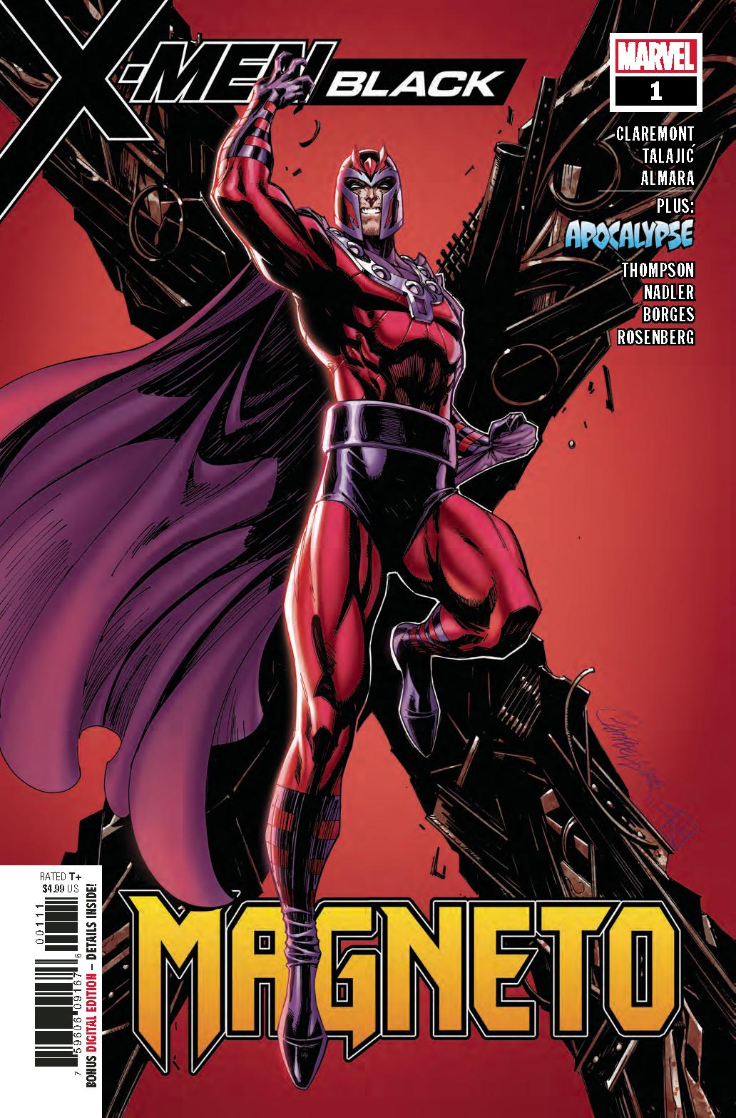 X-Men: Black - Magneto Vol 1 1