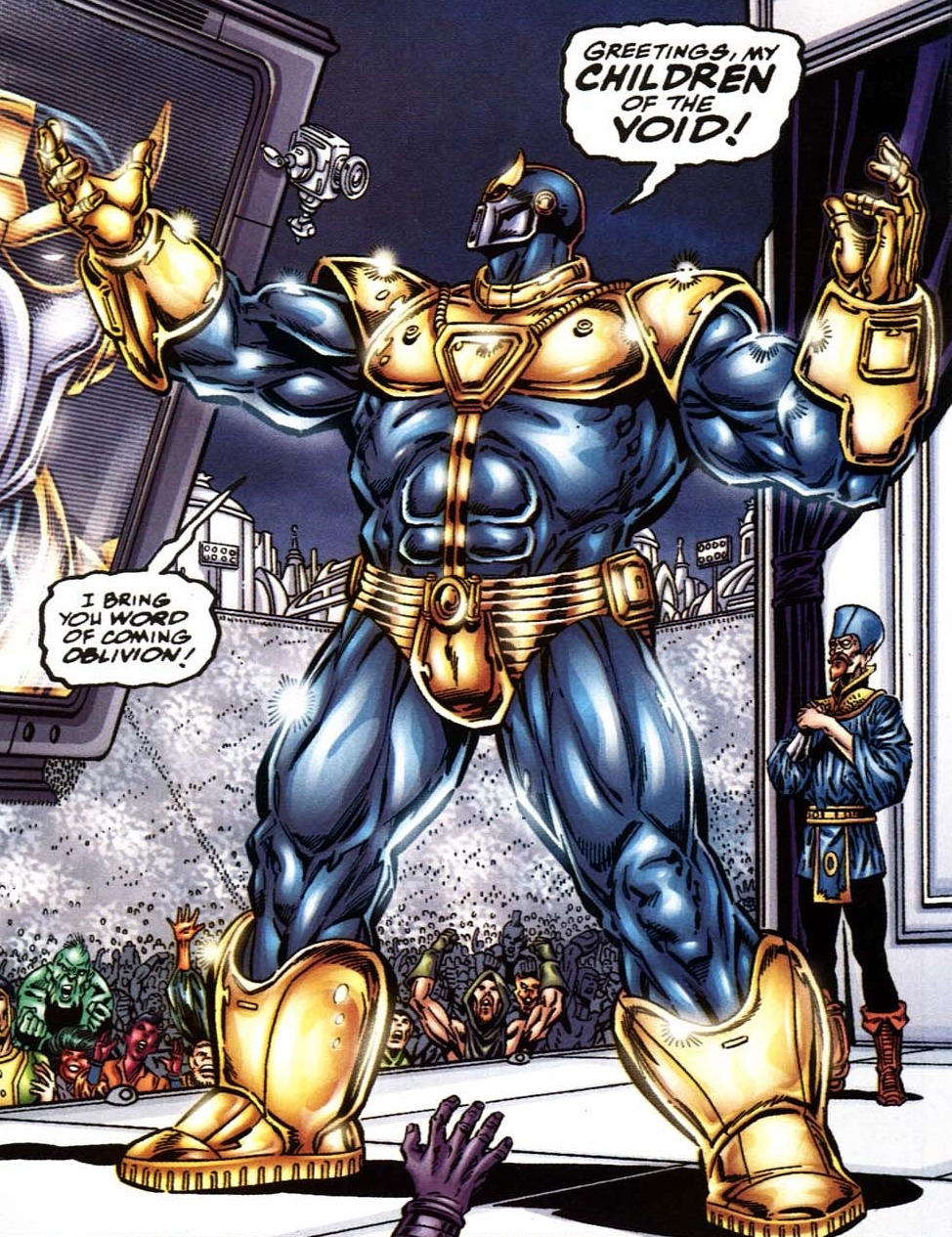 Armour (Thanosi) (Earth-616)