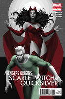 Avengers Origins The Scarlet Witch & Quicksilver Vol 1 1