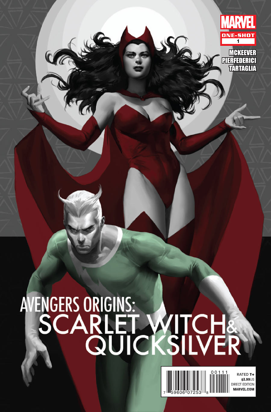 Avengers Origins: The Scarlet Witch & Quicksilver Vol 1 1