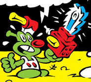 Chainsaw from Marvel Tails