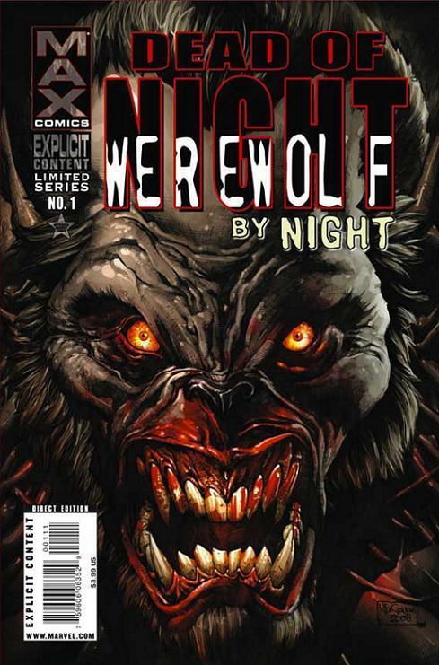 Dead of Night Featuring Werewolf by Night Vol 1 1