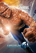 Fantastic Four Rise of the Silver Surfer (film) poster Thing 2
