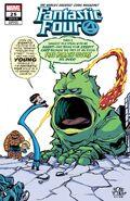 Fantastic Four Vol 6 25 Young Variant