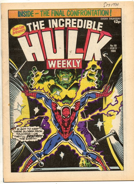 Hulk Comic (UK) Vol 1 50