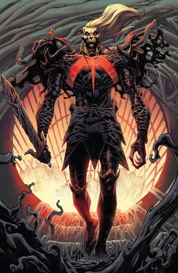 Knull (Earth-616) and Knull's Symbiote (Earth-616) from King in Black Vol 1 1 001.jpg
