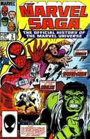 Marvel Saga the Official History of the Marvel Universe Vol 1 2