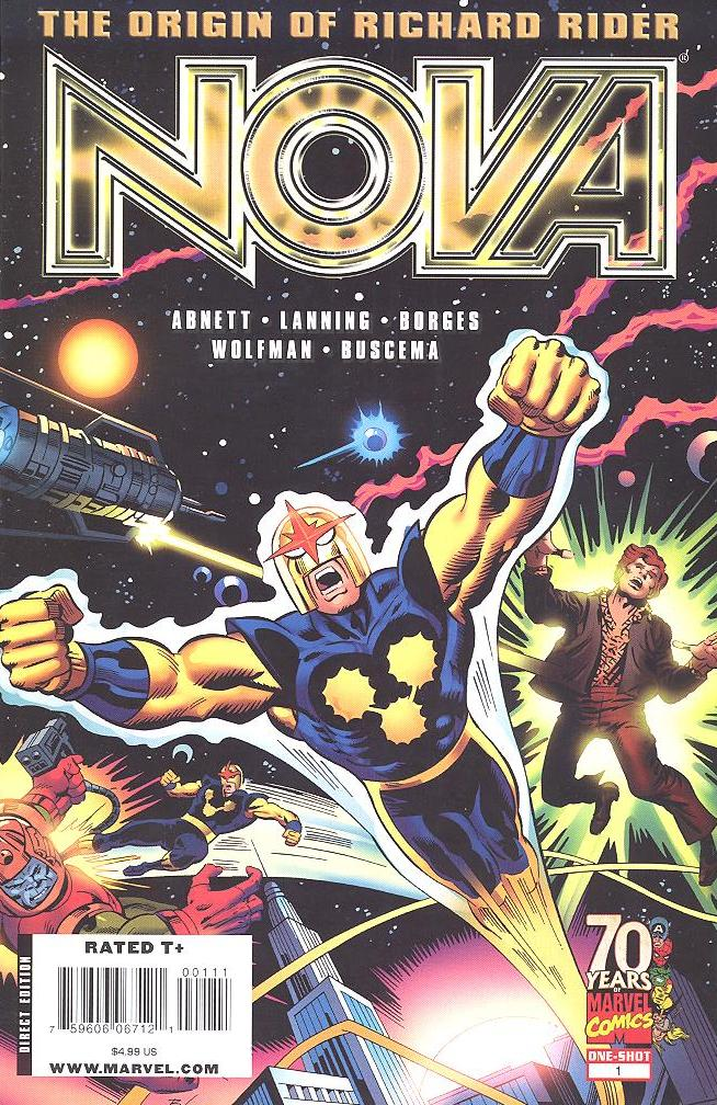 Nova: The Origin of Richard Rider Vol 1 1