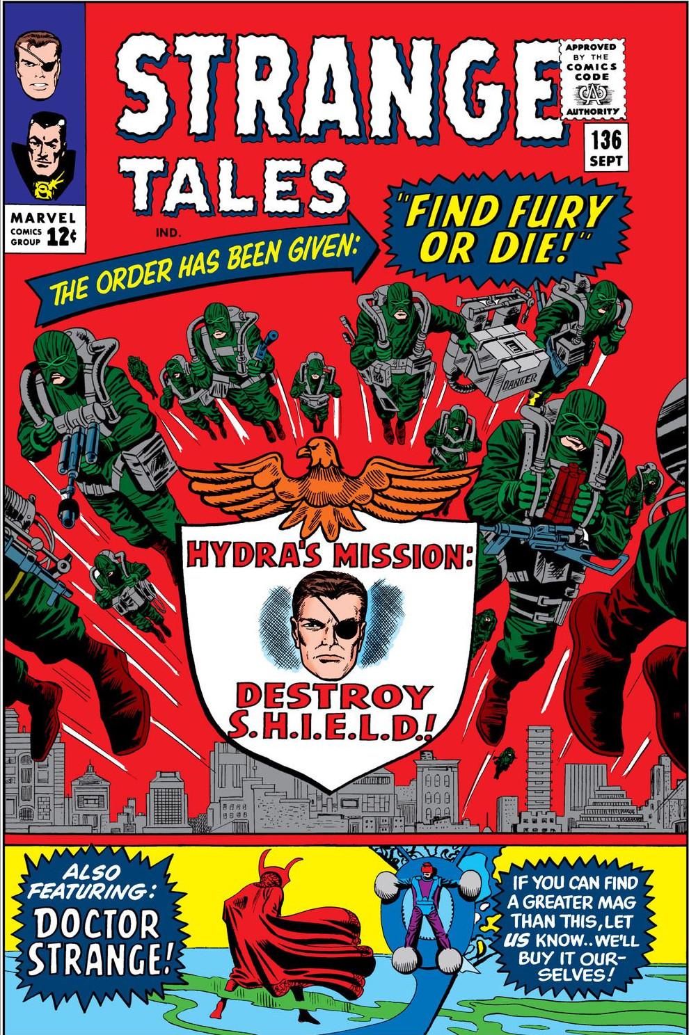 Marvel Masterworks: Nick Fury, Agent of S.H.I.E.L.D. Vol 1 1