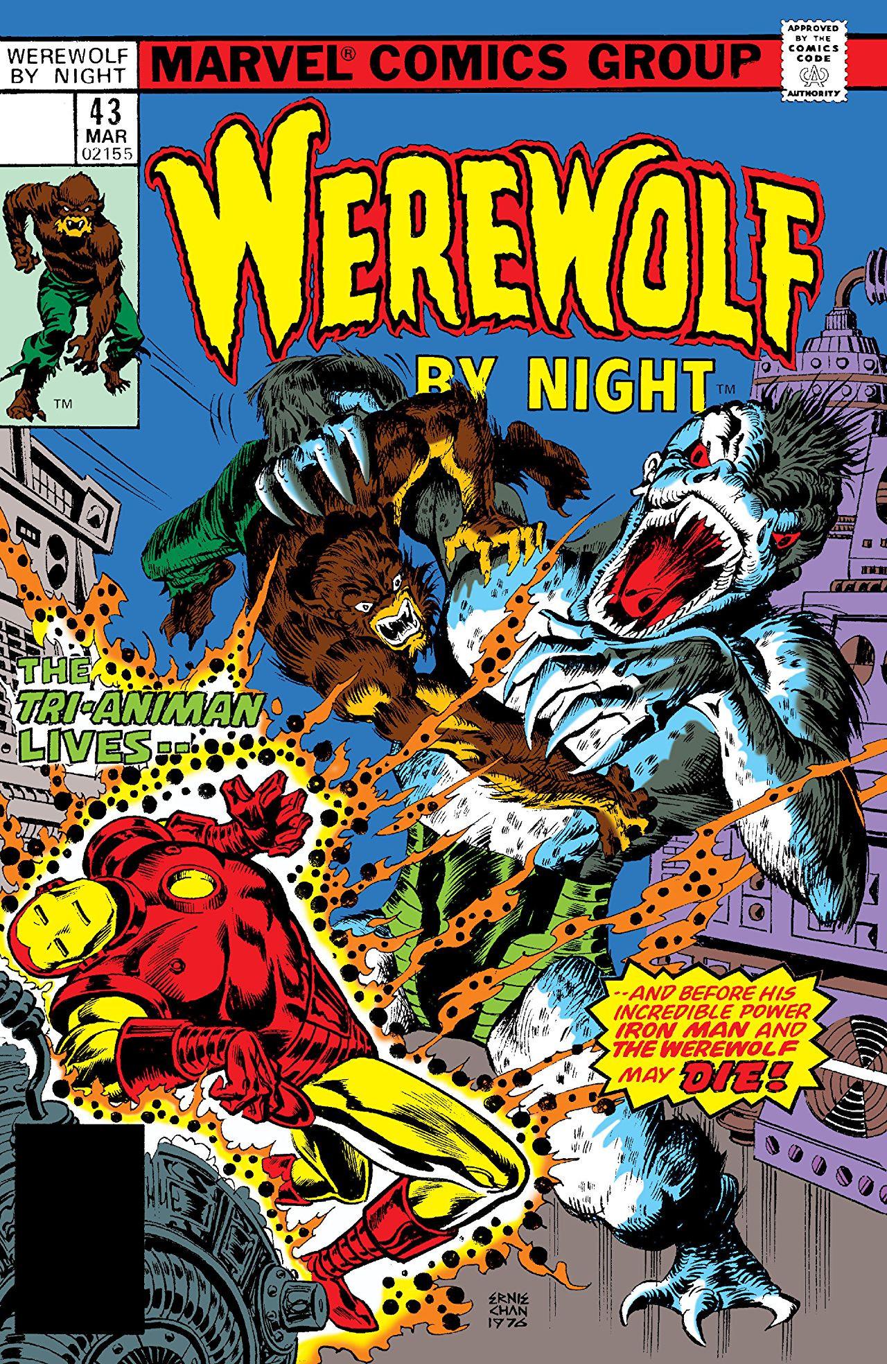 Werewolf by Night Vol 1 43