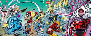 X-Men Vol 2 1 Gatefold