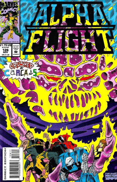 Alpha Flight Vol 1 126