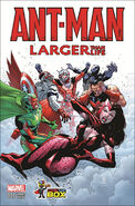 Ant-Man Larger Than Life Vol 1 1 Comic Con Box Exclusive Variant