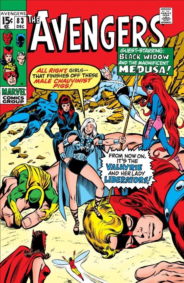 Avengers Vol 1 83