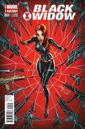 Black Widow Vol 5 1 Campbell Variant