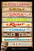 Guardians of the Galaxy Vol. 2 (film) poster 002