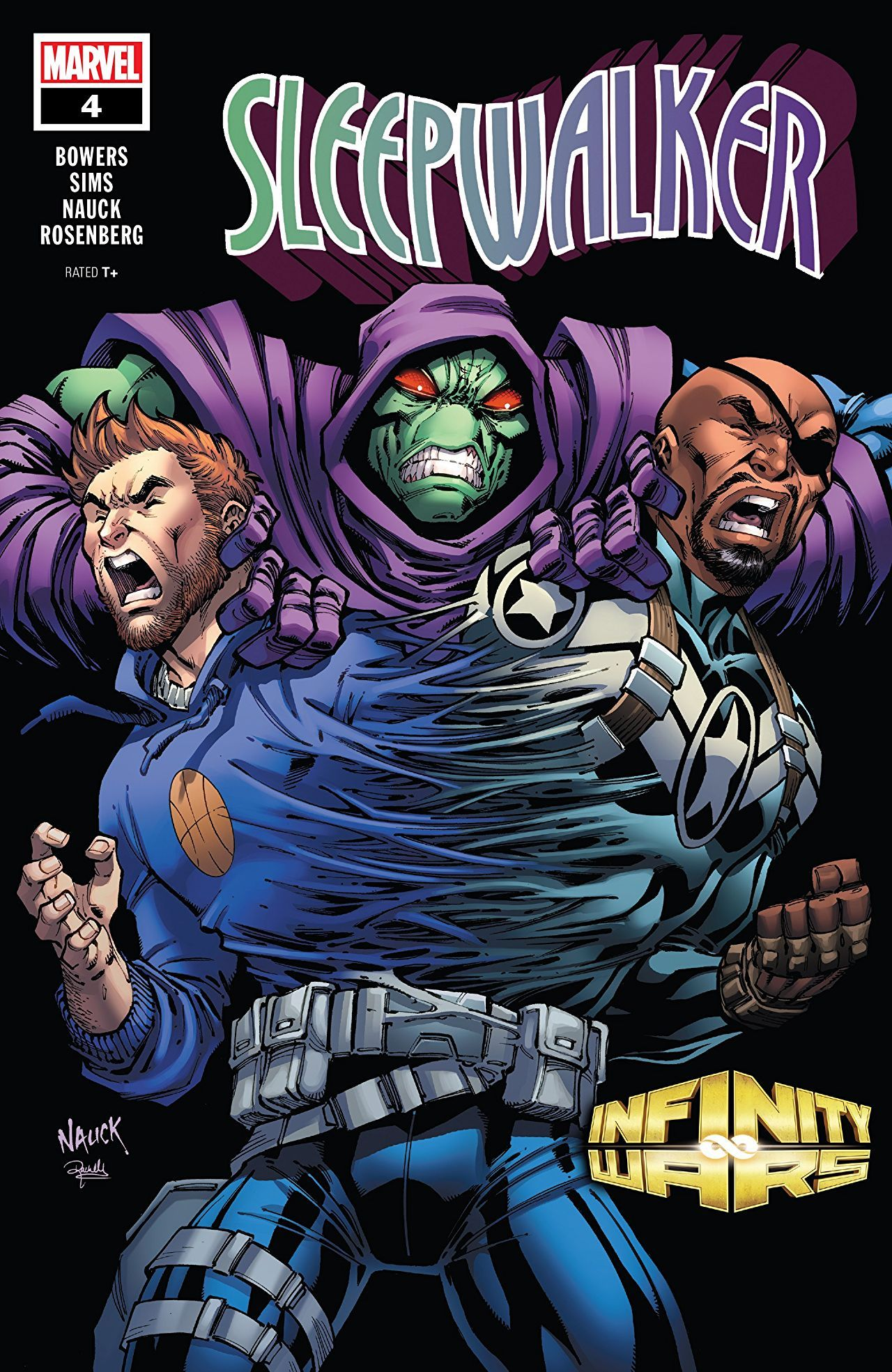 Infinity Wars: Sleepwalker Vol 1 4