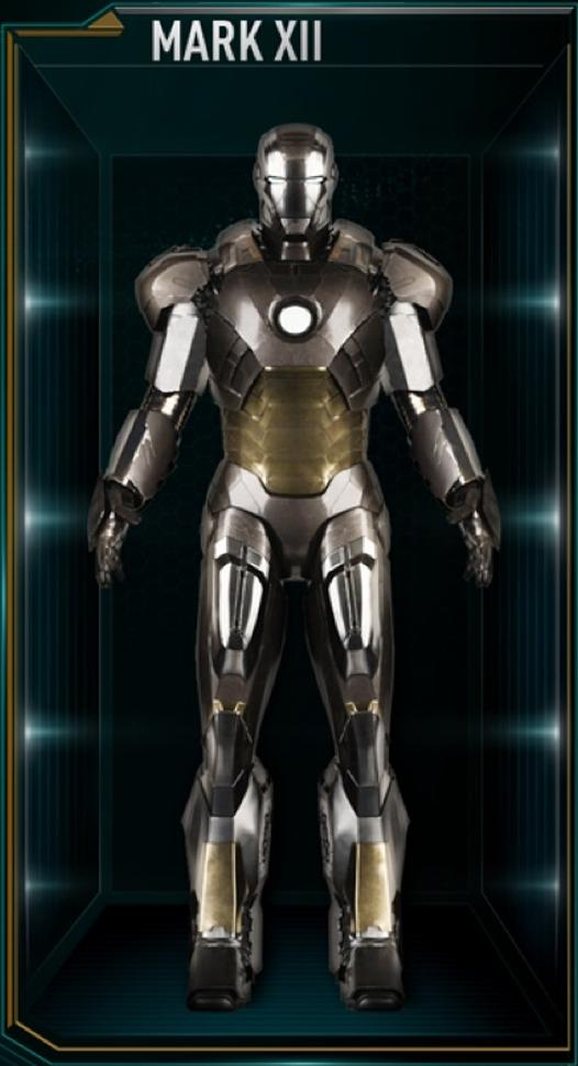Iron Man Armor MK XII (Earth-199999)