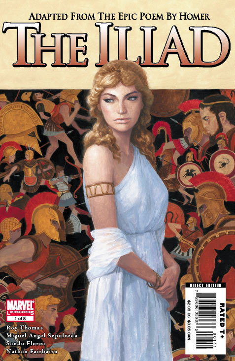 Marvel Illustrated: The Iliad Vol 1
