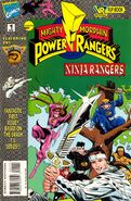 Saban's Mighty Morphin Power Rangers- Ninja Rangers Vol 1 1