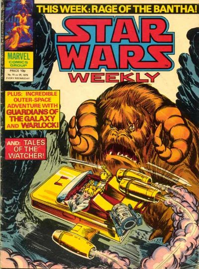 Star Wars Weekly (UK) Vol 1 74