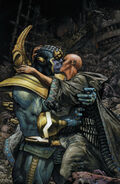 Thanos (Earth-616) and Death (Earth-616) from Thanos Rising Vol 1 5 001