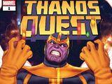 Thanos Quest: Marvel Tales Vol 1 1
