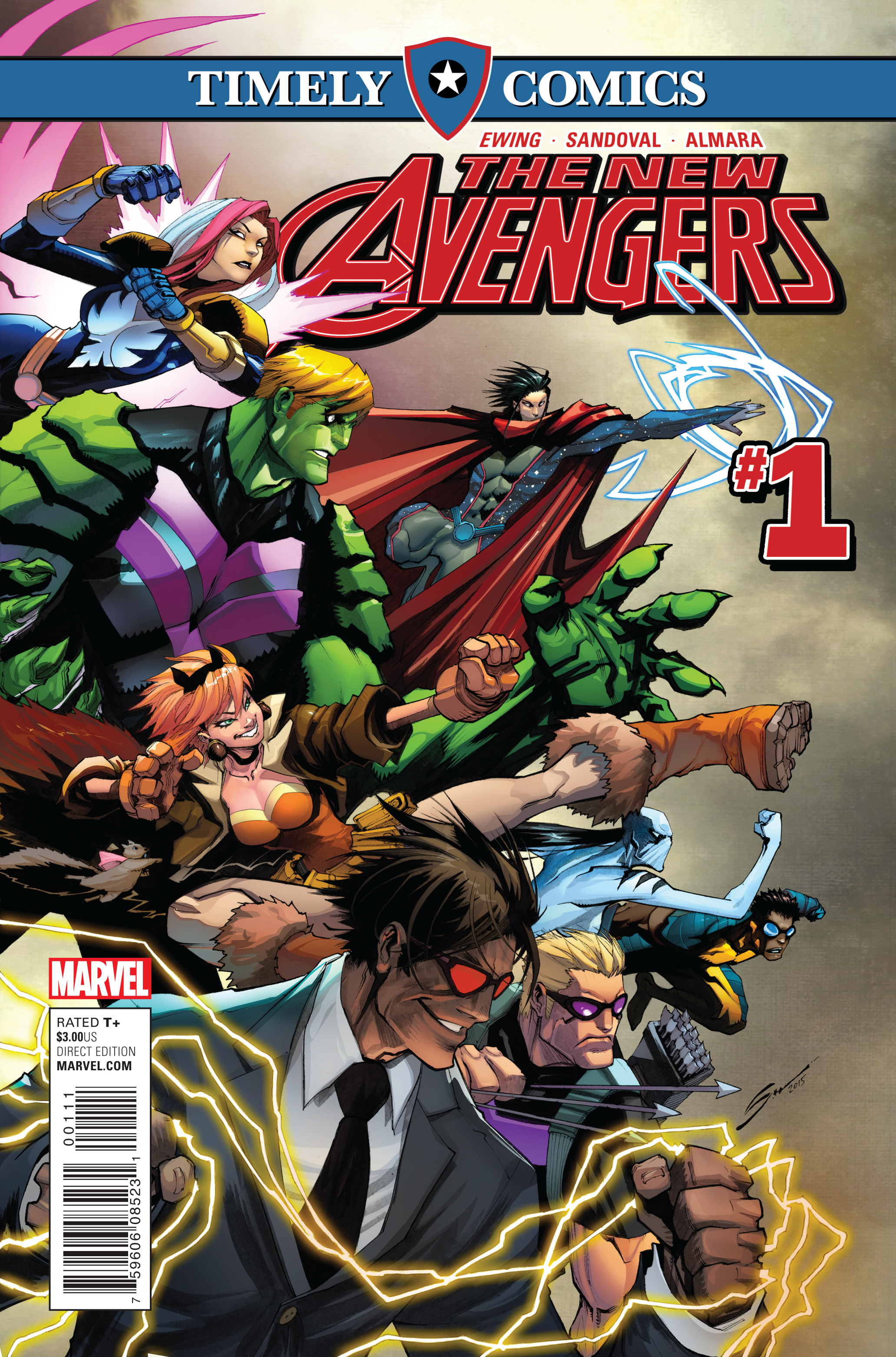 Timely Comics: New Avengers Vol 1