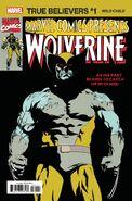 True Believers X-Men - Wild Child Vol 1 1