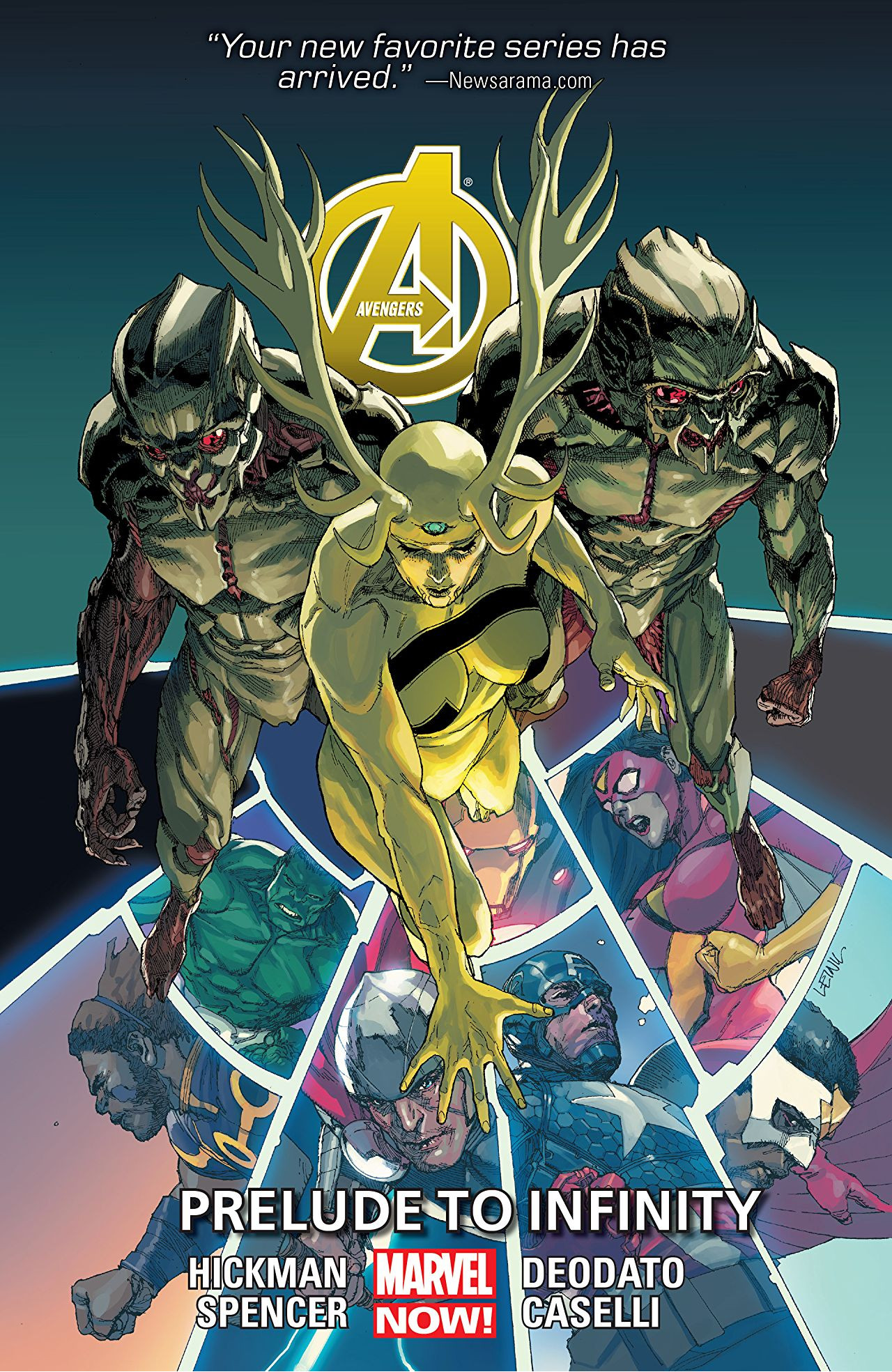 Avengers TPB Vol 5 3: Prelude to Infinity
