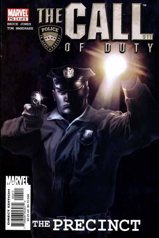 Call of Duty: The Precinct Vol 1 4