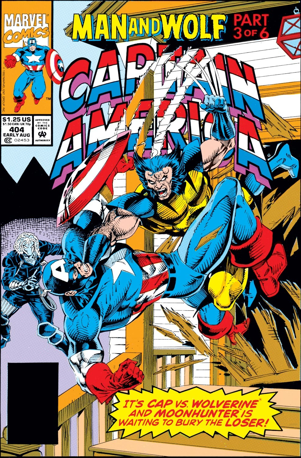 Captain America Vol 1 404
