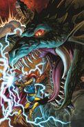 Daredevil Vol 3 32 Thor Battle Variant Textless