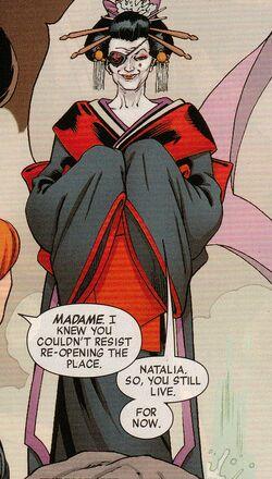 Madame (Earth-616) from Widowmaker Vol 1 3 0001.jpg