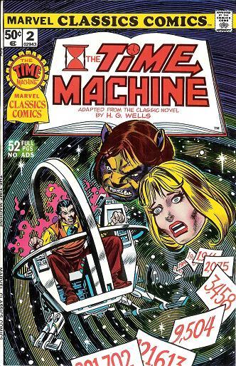 Marvel Classics Comics Series Featuring: The Time Machine Vol 1