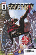 Miles Morales Spider-Man Vol 1 1 Second Printing Variant
