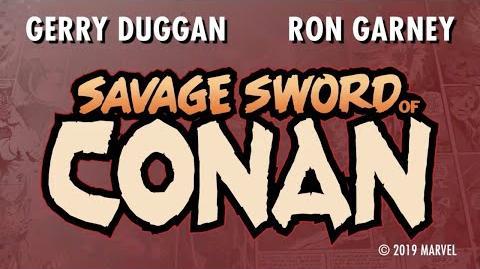 SAVAGE SWORD OF CONAN Launch Trailer Marvel Comics