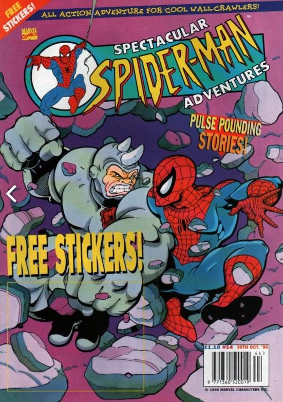 Spectacular Spider-Man (UK) Vol 1 14