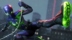 Spider-Man's Purple Reign Suit from Marvel's Spider-Man Miles Morales.png