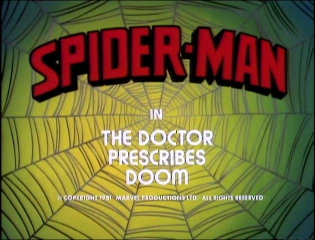 Spider-Man (1981 animated series) Season 1 8